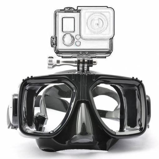 Foto - Potápěčské brýle pro akční kamery - černé
