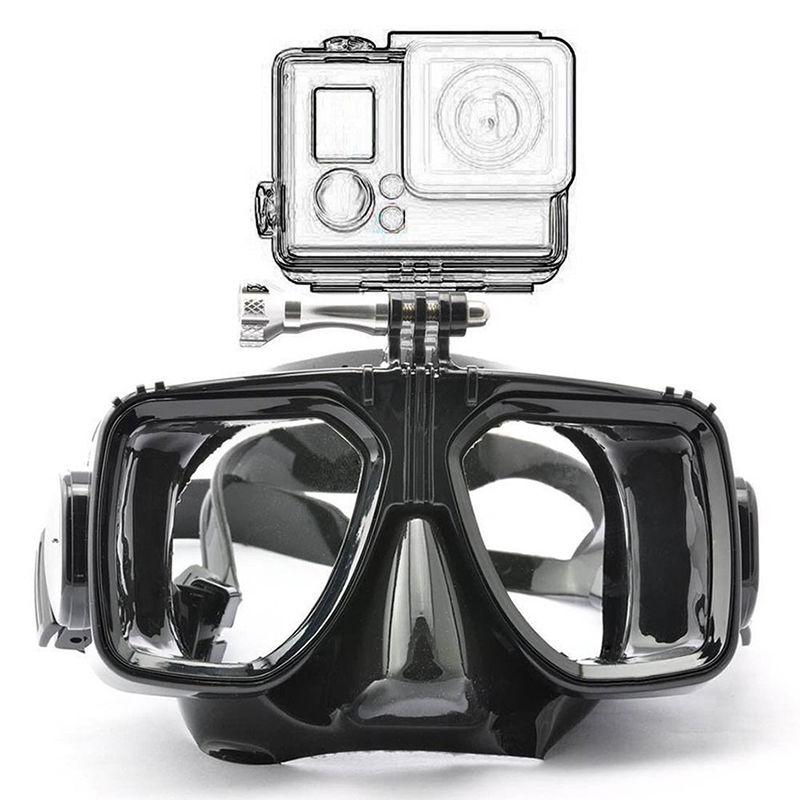 Potápěčské brýle pro akční kamery - černé