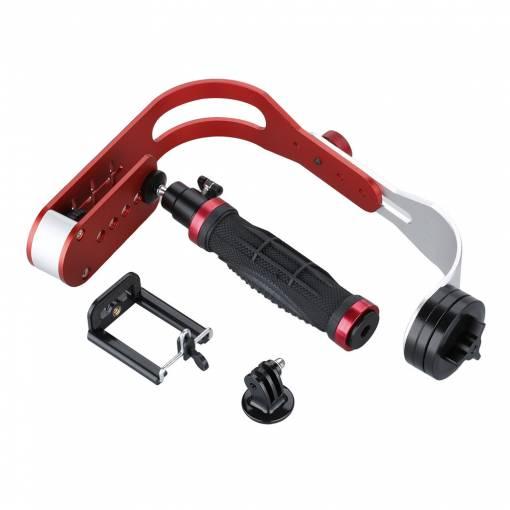 Ruční stabilizátor videa Steadicam pro video kamery, fotoaparátem a akční kamery