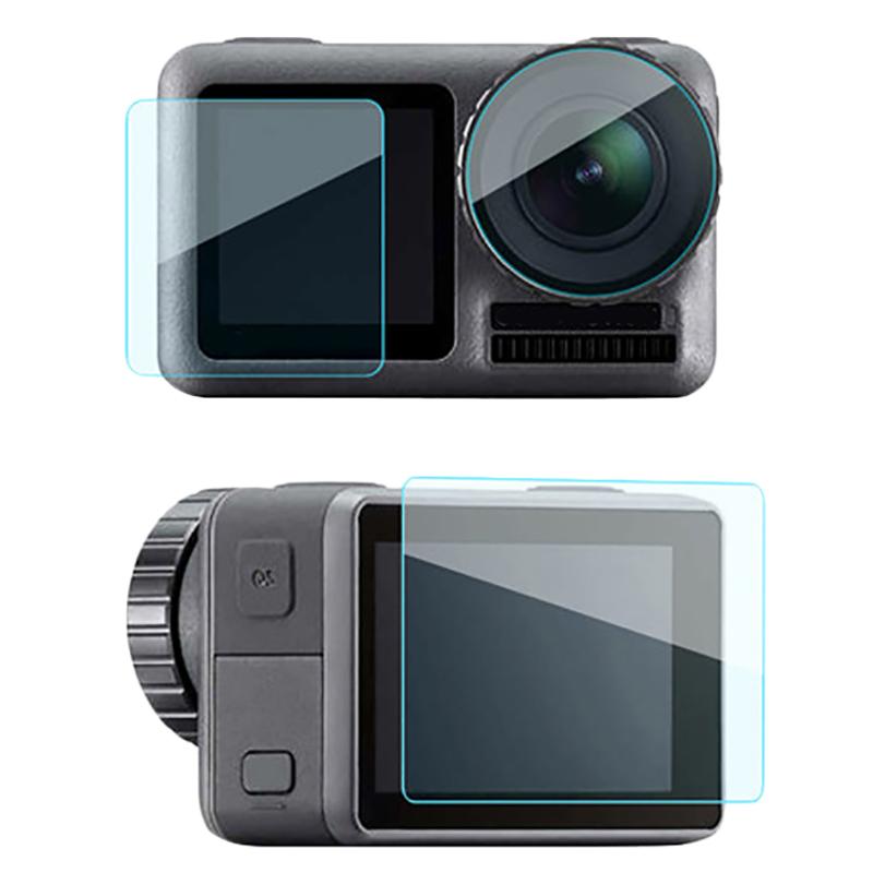 Ochranné sklo a fólie pro Dji Osmo Action Sport Camera (sada)